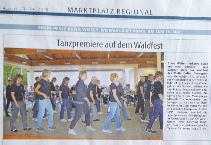 Waldfest - Mutterstadt am 05. Mai 2018